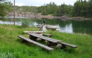 Storfjärden och Notstugan Foto: Siv Mattsson